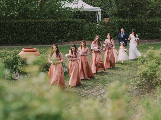 Il matrimonio di Marco e Francesca a Rosignano Monferrato, Alessandria 22
