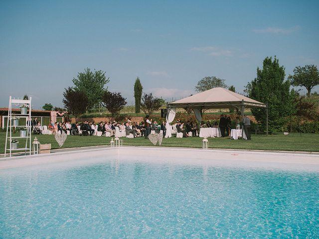 Il matrimonio di Marco e Francesca a Rosignano Monferrato, Alessandria 28