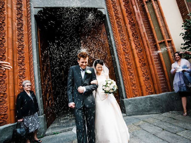 le nozze di Momoko e Claudio