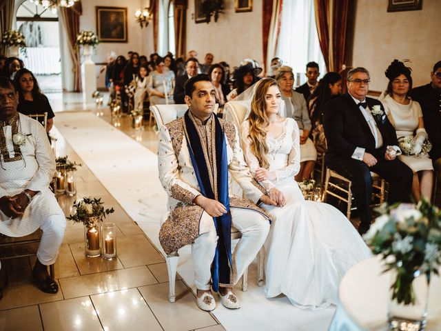 Il matrimonio di Anshu e Gabriella a Fauglia, Pisa 9