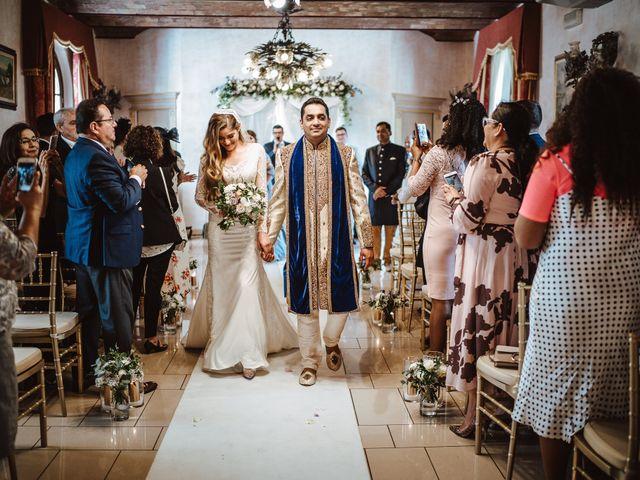 Il matrimonio di Anshu e Gabriella a Fauglia, Pisa 13