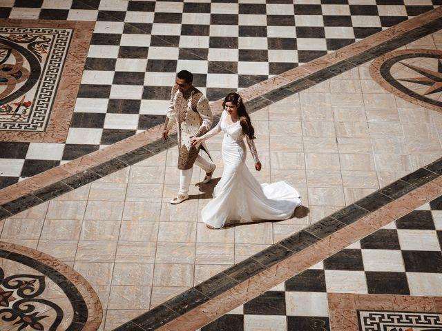 Il matrimonio di Anshu e Gabriella a Fauglia, Pisa 17
