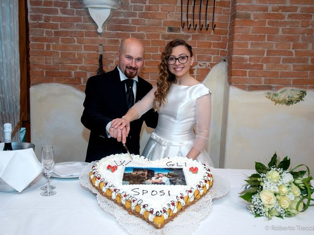 Il matrimonio di Stefania e Gianni a Rodigo, Mantova 55