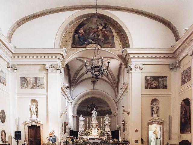 Il matrimonio di Lisa e Fabio a Valeggio sul Mincio, Verona 22
