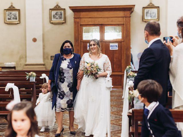 Il matrimonio di Lisa e Fabio a Valeggio sul Mincio, Verona 35