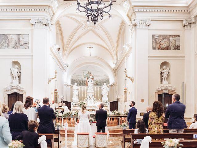 Il matrimonio di Lisa e Fabio a Valeggio sul Mincio, Verona 39