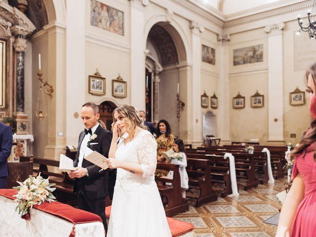 Il matrimonio di Lisa e Fabio a Valeggio sul Mincio, Verona 41