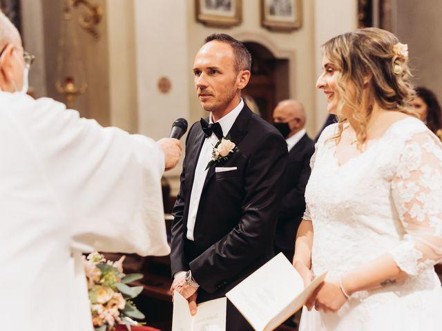 Il matrimonio di Lisa e Fabio a Valeggio sul Mincio, Verona 43