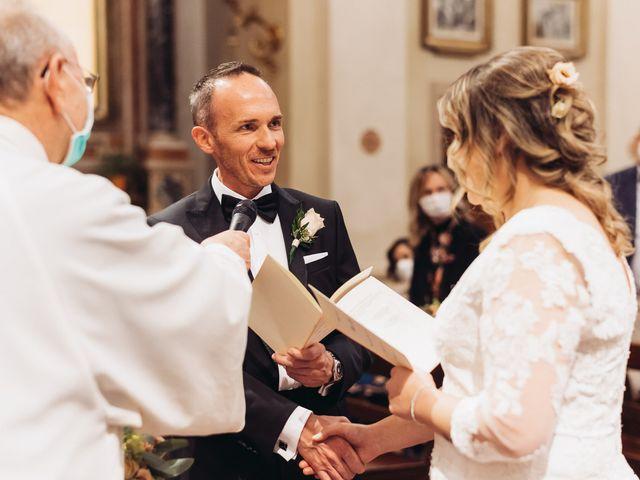 Il matrimonio di Lisa e Fabio a Valeggio sul Mincio, Verona 45