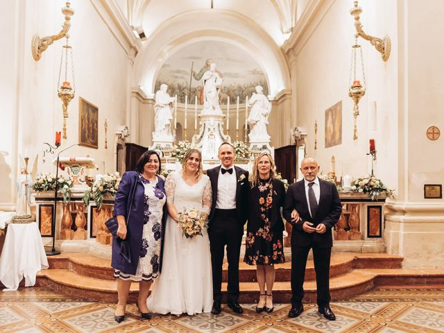 Il matrimonio di Lisa e Fabio a Valeggio sul Mincio, Verona 52