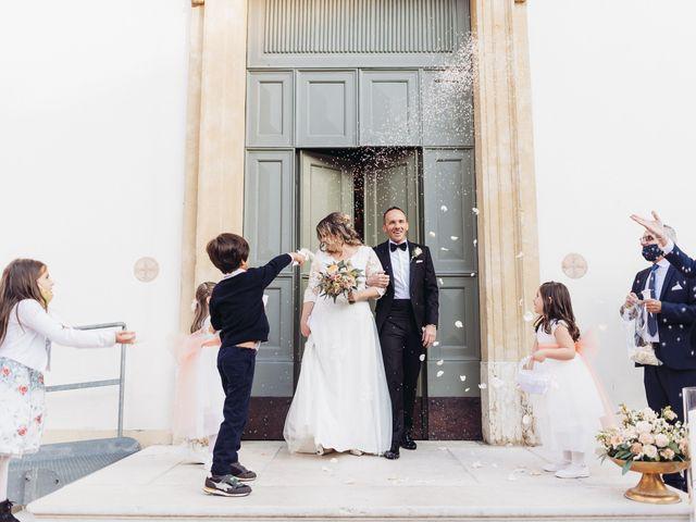 Il matrimonio di Lisa e Fabio a Valeggio sul Mincio, Verona 54