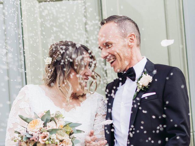 Il matrimonio di Lisa e Fabio a Valeggio sul Mincio, Verona 56
