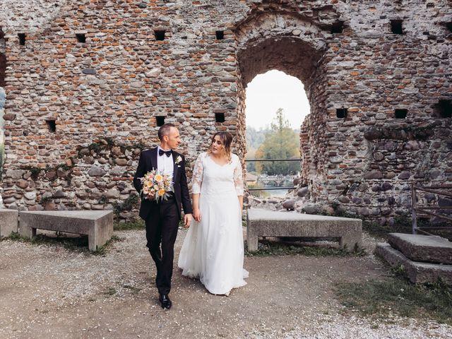 Il matrimonio di Lisa e Fabio a Valeggio sul Mincio, Verona 73