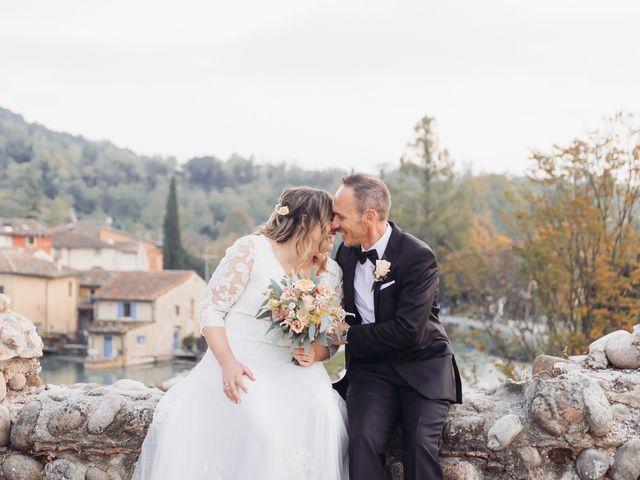 Il matrimonio di Lisa e Fabio a Valeggio sul Mincio, Verona 74