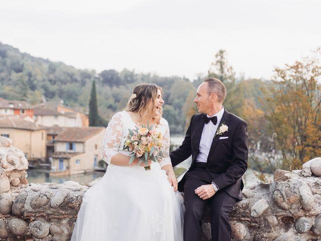 Il matrimonio di Lisa e Fabio a Valeggio sul Mincio, Verona 76