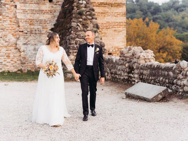 Il matrimonio di Lisa e Fabio a Valeggio sul Mincio, Verona 77
