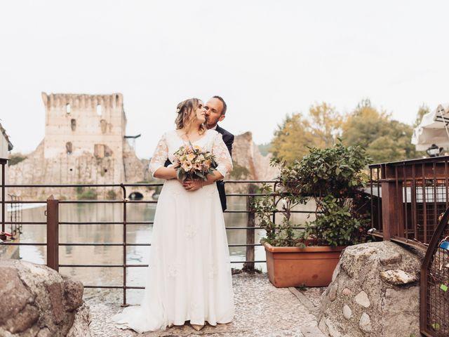 Il matrimonio di Lisa e Fabio a Valeggio sul Mincio, Verona 80
