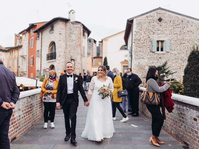 Il matrimonio di Lisa e Fabio a Valeggio sul Mincio, Verona 82