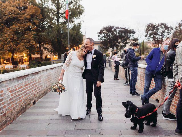Il matrimonio di Lisa e Fabio a Valeggio sul Mincio, Verona 83