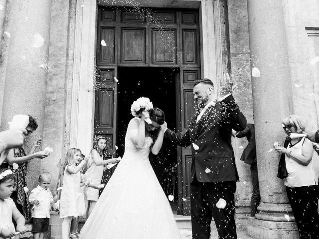 Il matrimonio di Elena e Fabio a Roma, Roma 1