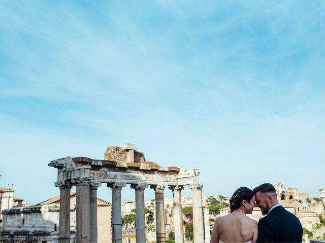 Il matrimonio di Elena e Fabio a Roma, Roma 6