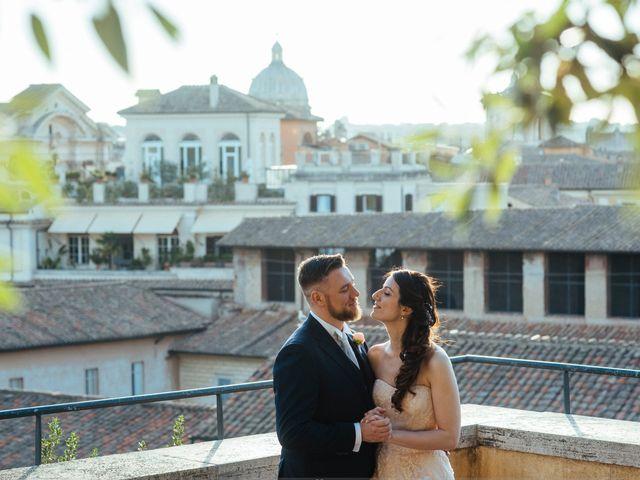 Il matrimonio di Elena e Fabio a Roma, Roma 8