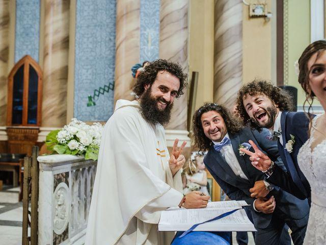 Il matrimonio di Dario e Gessica a Pontecagnano Faiano, Salerno 35