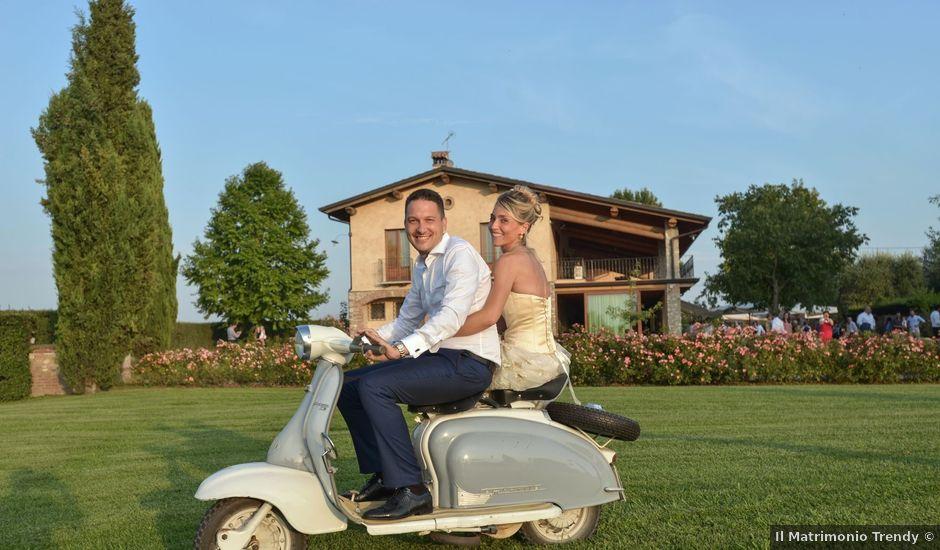 Il matrimonio di Davide e Silvia a Pozzolengo, Brescia