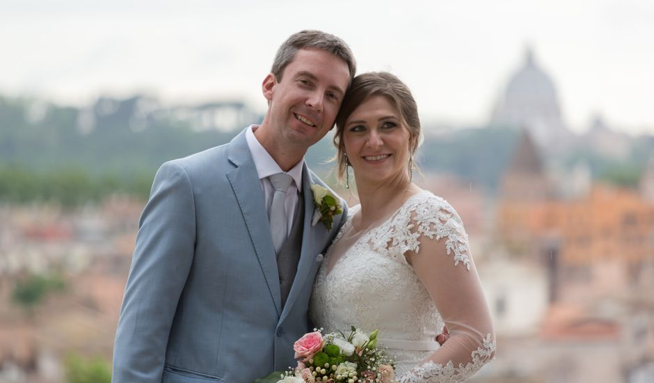 Il matrimonio di Rafael e Gisele a Roma, Roma