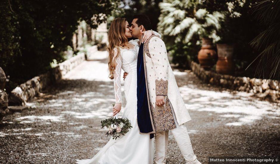 Il matrimonio di Anshu e Gabriella a Fauglia, Pisa