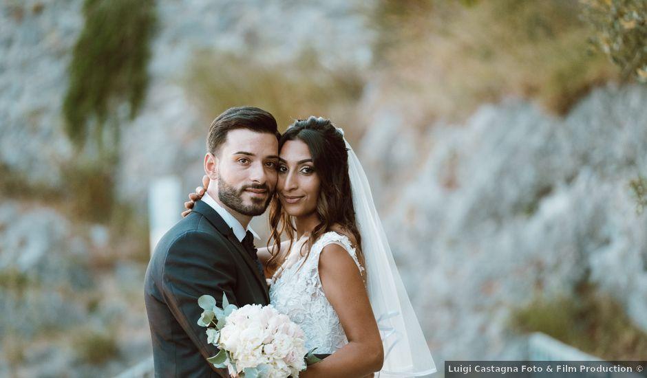 Il matrimonio di Marcello e Amal a Capaccio Paestum, Salerno