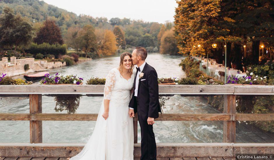 Il matrimonio di Lisa e Fabio a Valeggio sul Mincio, Verona