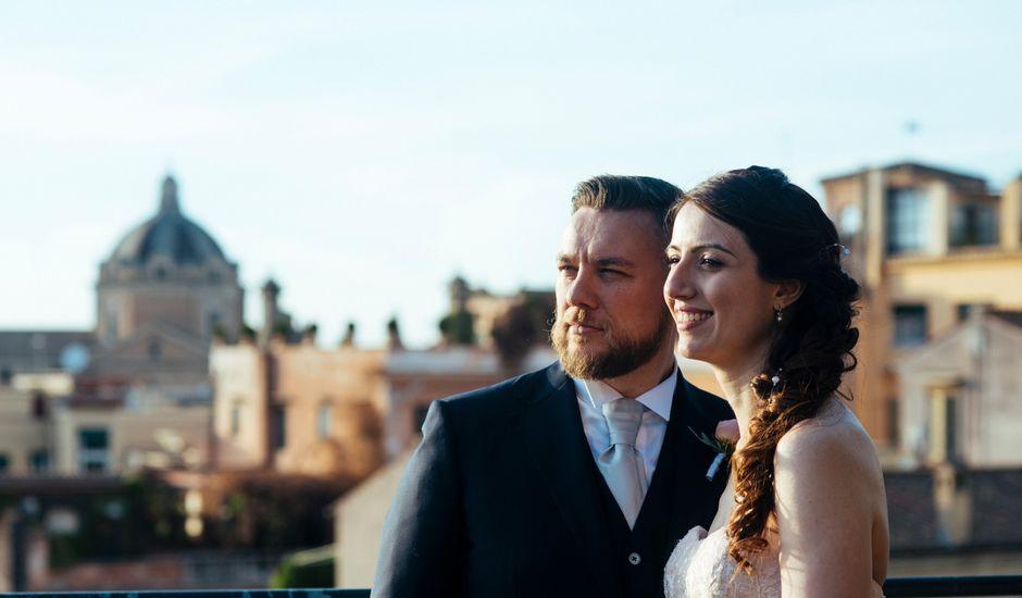 Il matrimonio di Elena e Fabio a Roma, Roma