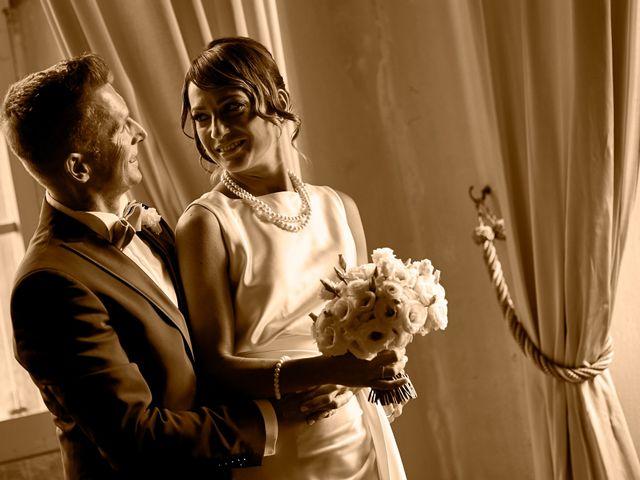 Il matrimonio di Enrico e Simona a Dozza, Bologna 32