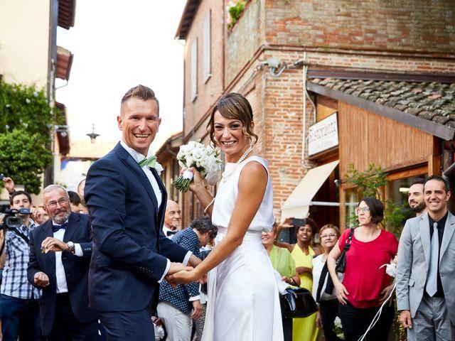 Il matrimonio di Enrico e Simona a Dozza, Bologna 43