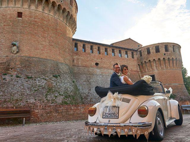 Il matrimonio di Enrico e Simona a Dozza, Bologna 44