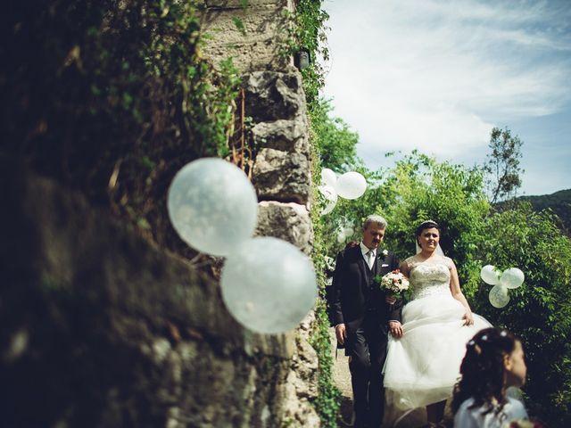 Il matrimonio di Mirko e Nausica a Posta Fibreno, Frosinone 30