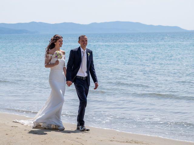 Il matrimonio di Davide e Martina a Follonica, Grosseto 92
