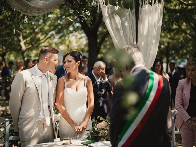 Il matrimonio di Alessandro e Francesca a Lu, Alessandria 27