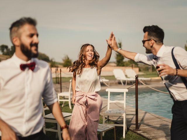 Il matrimonio di Alessandro e Francesca a Lu, Alessandria 61