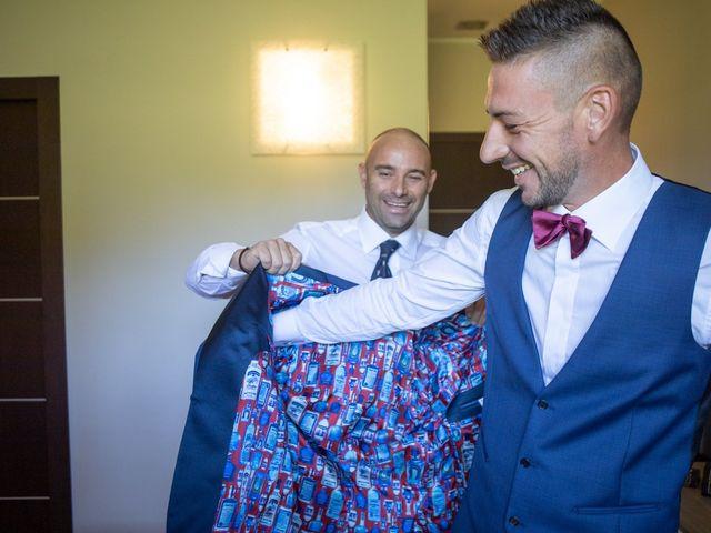 Il matrimonio di Fabio e Alessia a Trino, Vercelli 8