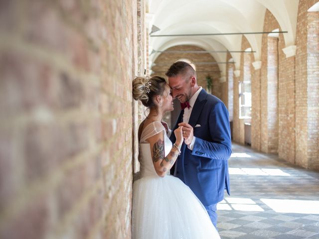 Il matrimonio di Fabio e Alessia a Trino, Vercelli 28