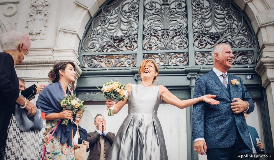 Il matrimonio di Luca e Monica a Duino-Aurisina, Trieste