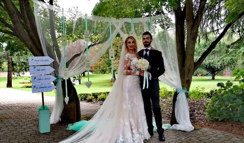 Il matrimonio di Andrea  e Sara a Galliate, Novara