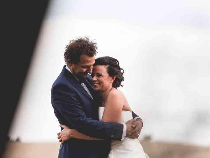 le nozze di Valeria e Cristiano