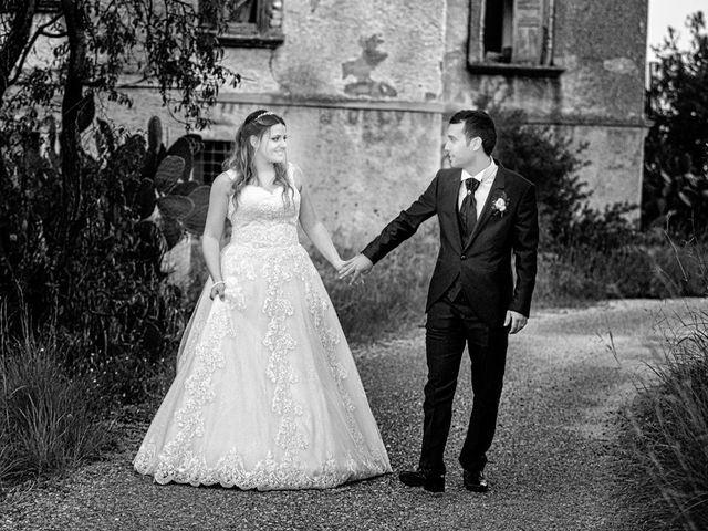 le nozze di Antonella e Giuseppe