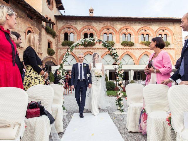 Il matrimonio di Claudio e Caterina a Filago, Bergamo 16