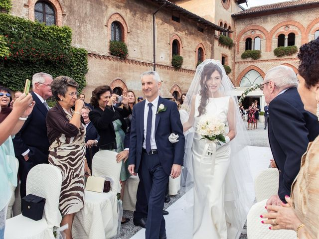 Il matrimonio di Claudio e Caterina a Filago, Bergamo 17