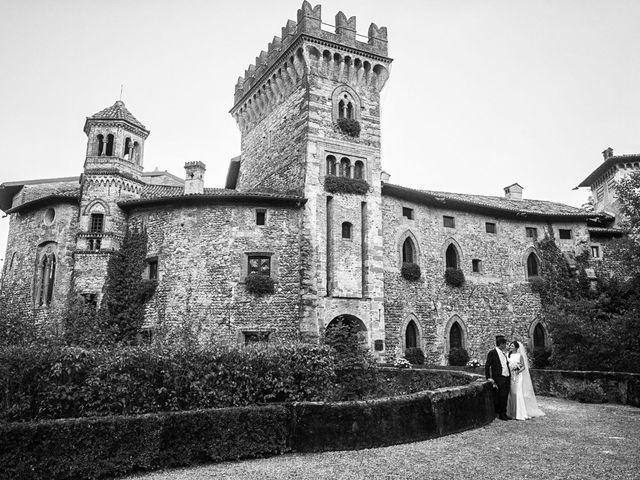 Il matrimonio di Claudio e Caterina a Filago, Bergamo 32