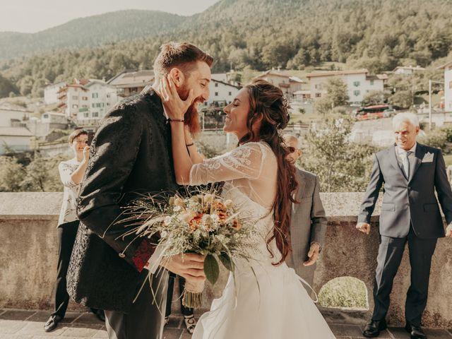 Il matrimonio di Stefano e Martina a Folgaria, Trento 26
